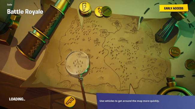 Fortnite Guide: Where To Search From The Loading Screen Treasure Map