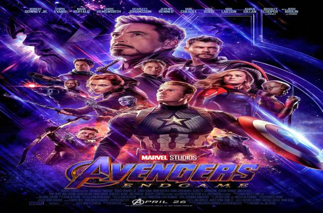 Stylish New Avengers Endgame Poster Brings All The Heroes Together