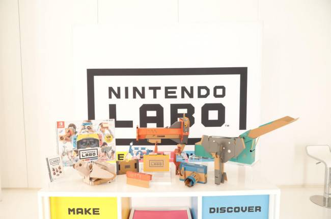 Nintendo Finally Does VR, In The Most Nintendo Way Possible
