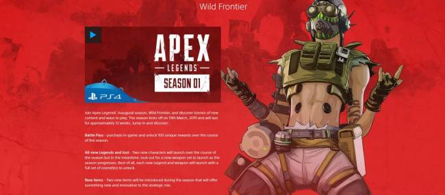Apex Legends To Add Another Character In Season 1, According To Sony