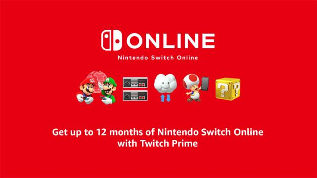 Grab A Free 12-Month Nintendo Switch Online Subscription With Twitch Prime