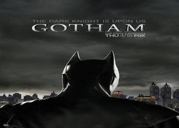 New Gotham Poster Gives First Look At Batman