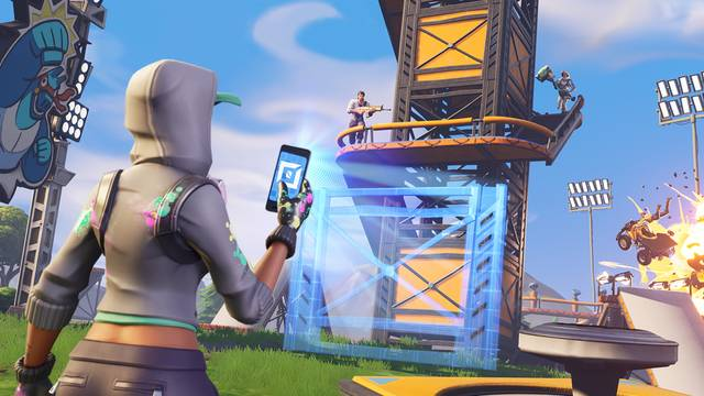 Fortnite Matchmaking Now Pools Switch Players with Mobile