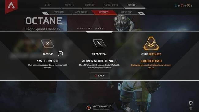 Apex Legends Jump Pads for Octane's Ultimate Found in the Game, Watch It in Action