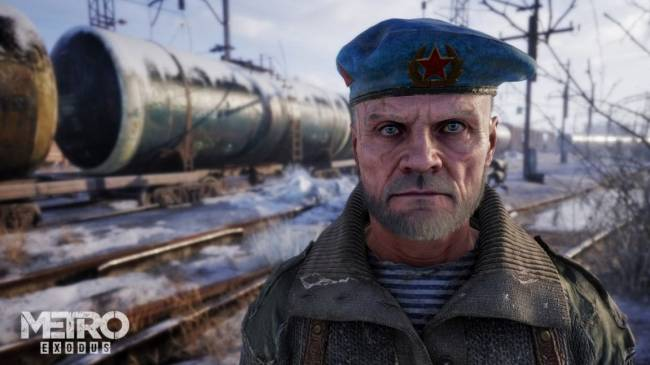 The train is the best character in Metro Exodus