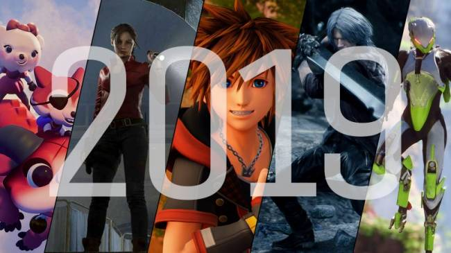 2019 Video Game Release Schedule
