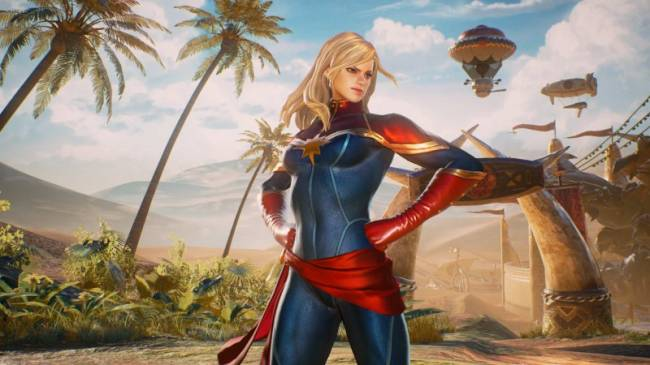 A Look At Captain Marvel's Place In Video Games