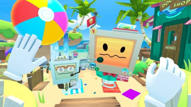 Take Some Time Off In April For The Release Of Vacation Simulator