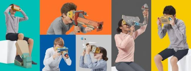 Nintendo Announces VR Headset As A Labo Kit