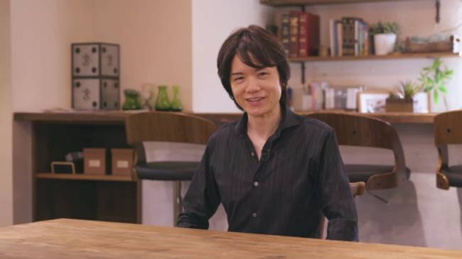 Super Smash Bros. Director Masahiro Sakurai Worked With An IV Drip While Sick