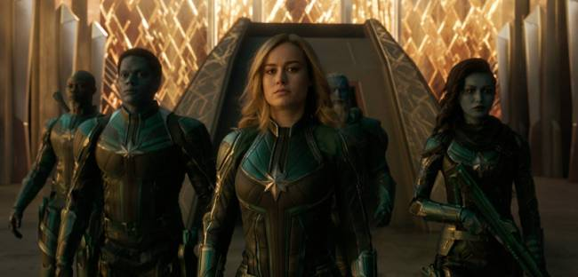 Captain Marvel Shatters Records With Biggest Opening Weekend For Female-Led Film