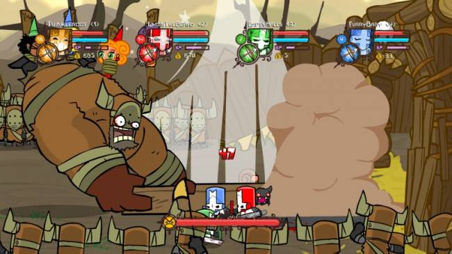 Castle Crashers Being Teased For Switch (Update: Also PS4!)