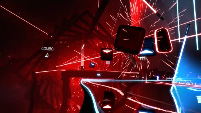 Beat Saber Coming To Oculus Quest