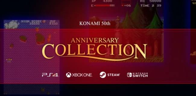 Konami Announces Anniversary Collections Starring Castlevania, Contra, And Arcade Classics