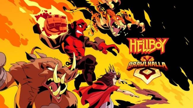 Hellboy Is Coming To Brawlhalla, Just In Time For The Movie Premiere