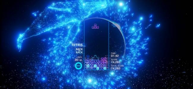 Tetris Effect's Cut Modes Included A Rock Band-Style Puzzler