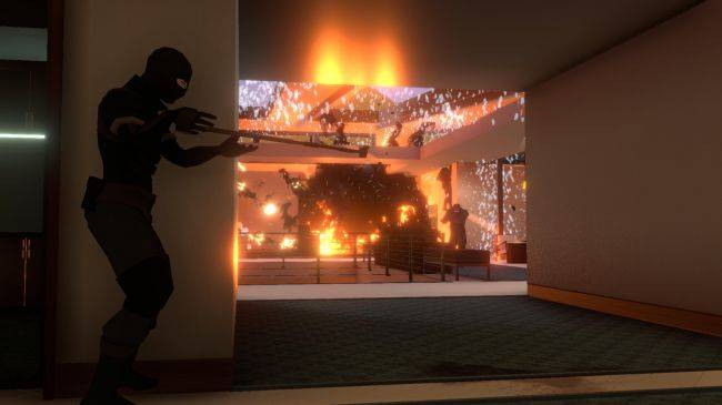 Intruder is a multiplayer stealth shooter with tactical banana peels, now in Early Access