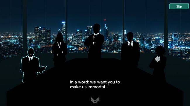 Cyberpunk management sim Spinnortality made $90,000 in its first month