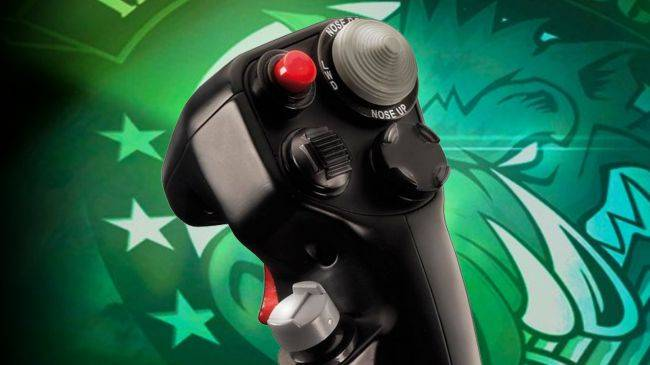Save over $100 on the best high-end joystick, the Thrustmaster HOTAS Warthog