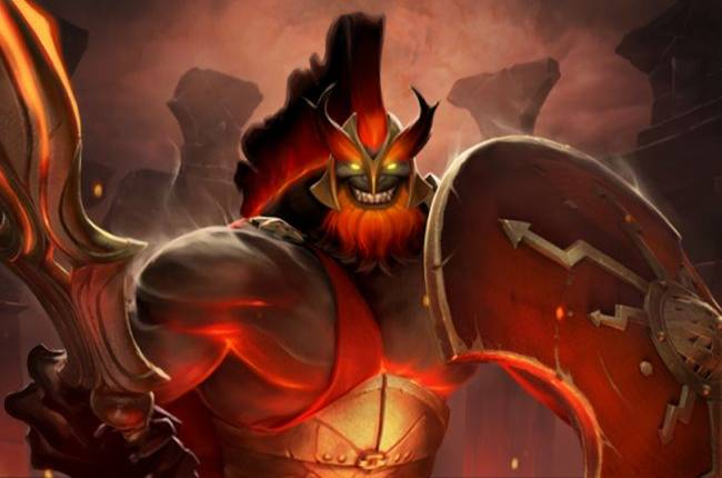 Mars and his undead army arrive in Dota 2