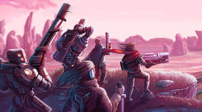 Star Renegades is a 'tactical strategy rogue-lite RPG' about a rebellion that won't quit