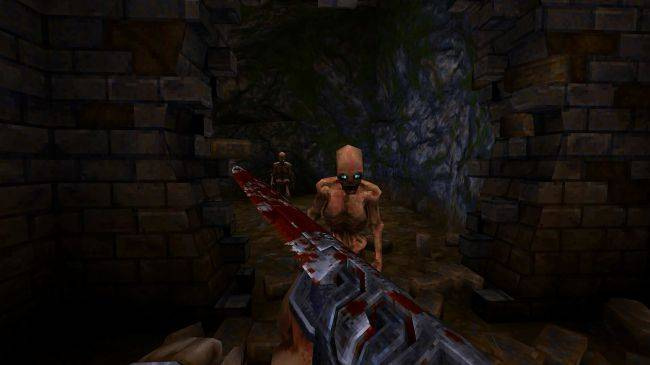 Wrath: Aeon of Ruin is a bloody Quake revival using the original engine