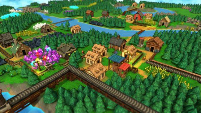 Factory Town reimagines Factorio as a colourful, magical city builder