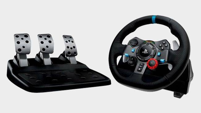 Logitech's excellent G29 racing wheel is on sale for $195 right now