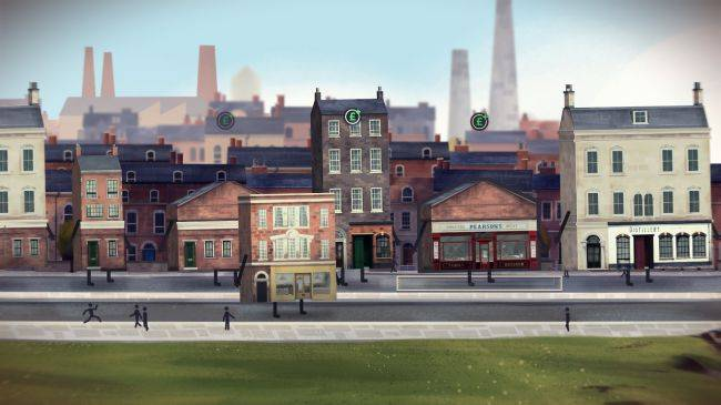 The buildings are alive in the strange city management sim Buildings Have Feelings Too