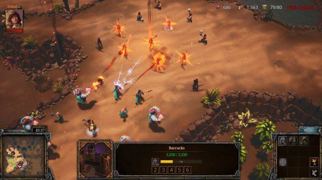 A Year of Rain is a co-op RTS with a competitive streak