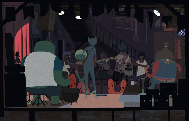 Make friends with mutants in this soap opera adventure game