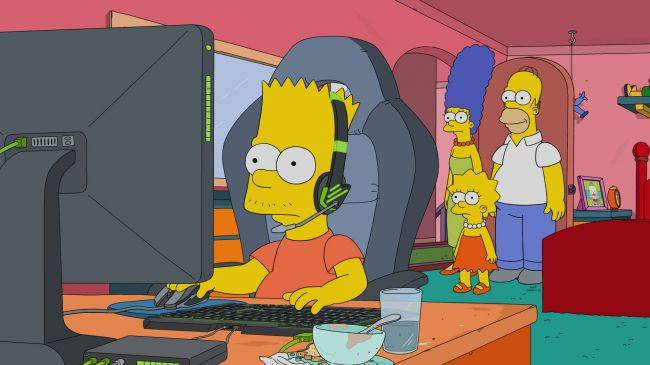 The Simpsons joins with Riot Games to turn Bart into an esports star