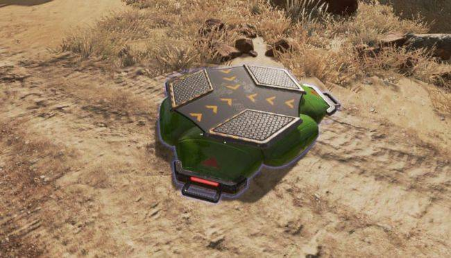 Jump pads are appearing in Apex Legends