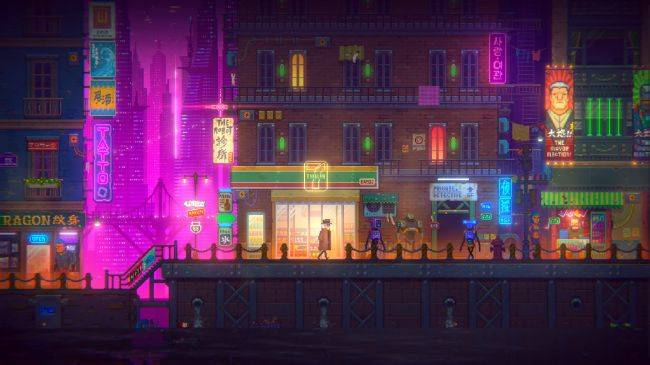 Stylish cyberpunk adventure Tales of the Neon Sea gets release date
