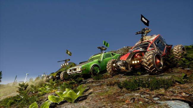Notmycar is a vehicular battle royale, coming soon
