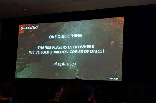 Devil May Cry 5 has already sold 2 million copies