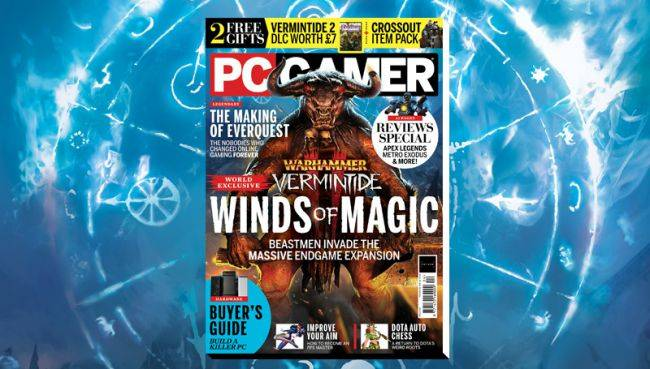 Save 20% on a PC Gamer magazine subscription