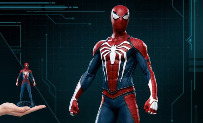 Smaller, Cheaper Advanced Suit Spider-Man Statue On The Way