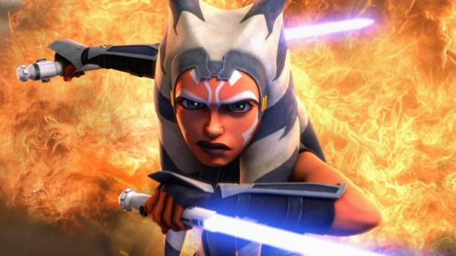 Report: Rosario Dawson Cast As Ahsoka Tano In The Mandalorian's Second Season