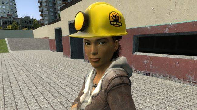 In Half-Life: Alyx, you can protect yourself from barnacles by wearing a hard hat