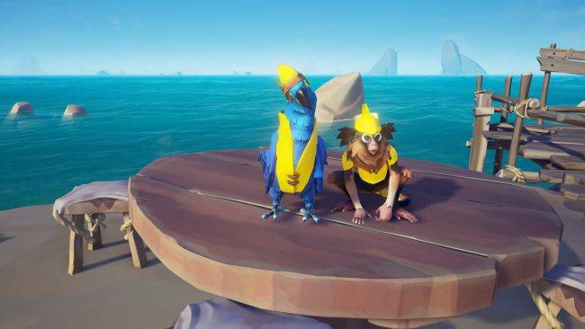 Sea of Thieves is getting banana-themed gear and a new Tall Tale next week