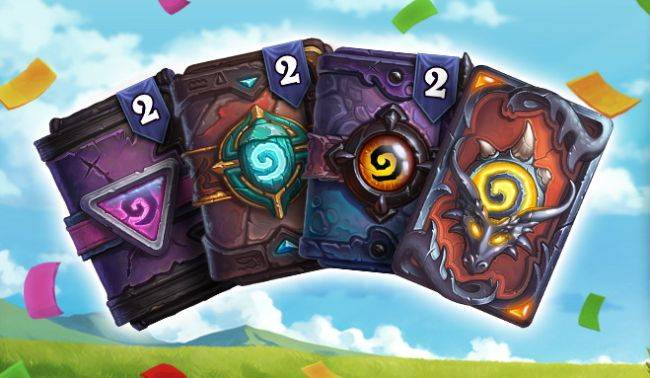 Earn free Hearthstone card packs in the Spirit of Competition anniversary event