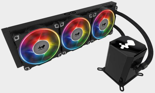 This dual-pump liquid cooler will keep working even if one pump fails