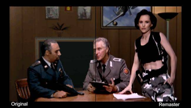 Here's what the remastered FMV cutscenes in Command & Conquer will look like