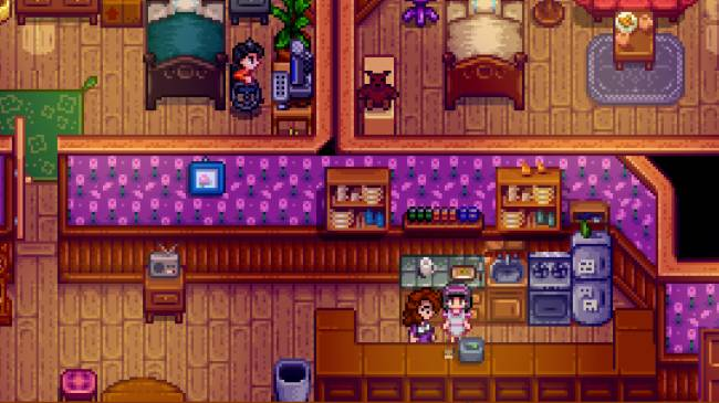 This Stardew Valley mod adds a cute cafe run by twin NPCs