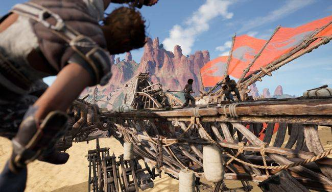 Nomadic survival MMO Last Oasis is getting an Early Access launch soon