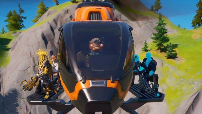 Fortnite update 12.20 introduces helicopters and map changes