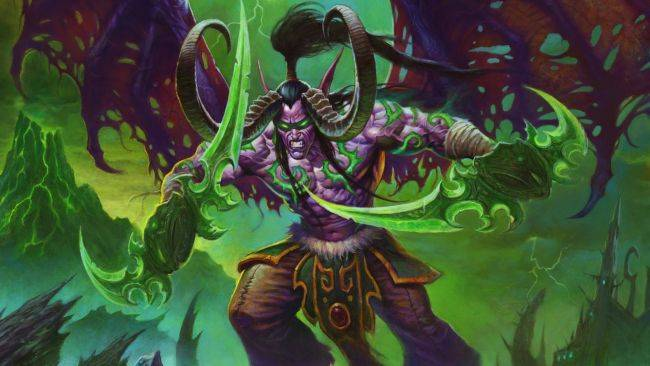 Hearthstone will add the Demon Hunter class with the new Ashes of Outland expansion