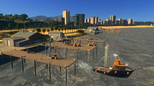 Cities: Skylines goes to sea with a fishing expansion next week