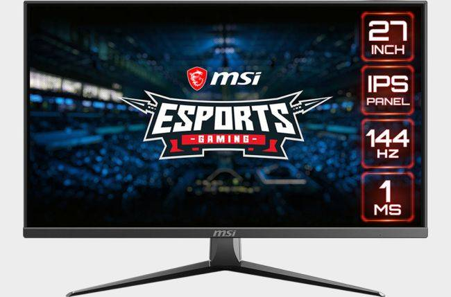 MSI takes aim at esports with a pair of super quick FreeSync IPS monitors